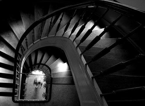 noir stairs
