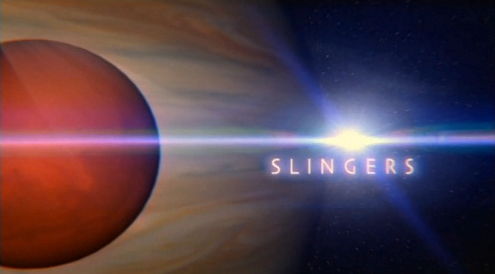 Slingers title card