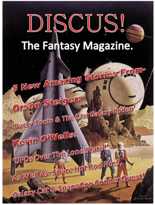 Discus Magazine mock up