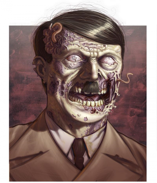 zombie hitler