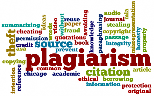 plagiarism associated words