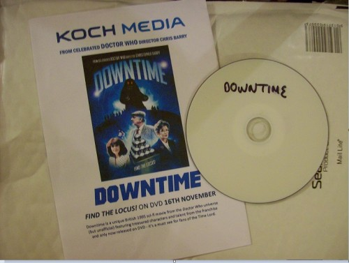 dvd downtime review disc