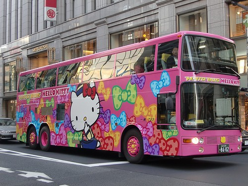 hello kitty bus2