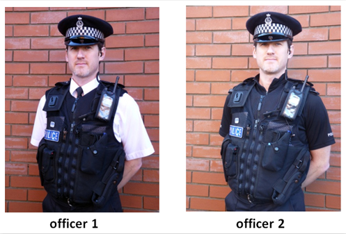 police uniform shirt changes